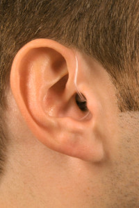 micro behind the ear hearing aid